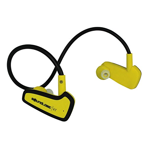 Click to buy SoundLogic XT® Wireless Bluetooth NFC In-Ear Active Sport Recoil Excercise Headphones for ANDROID, iPhone and other Smart Devices - Yellow - From only $34.69