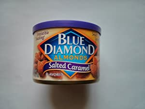 Blue Diamond Almonds, Salted Caramel, 6-Ounce