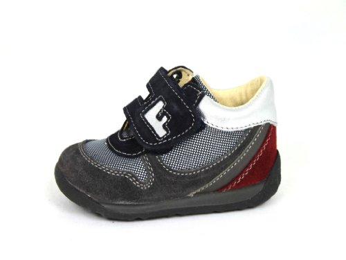 Falcotto by Naturino scarpe scarpe per bambini scarpe Sneaker Shoe 319, grigio (grigio blu), 18 EU