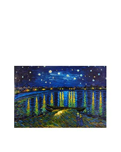 Arte dal Mondo olieverfschilderij Van Gogh Notte Stellata Sulla Rhona