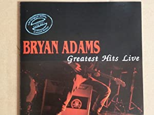 bryan adams greatest hits live by bryan adams music. Black Bedroom Furniture Sets. Home Design Ideas