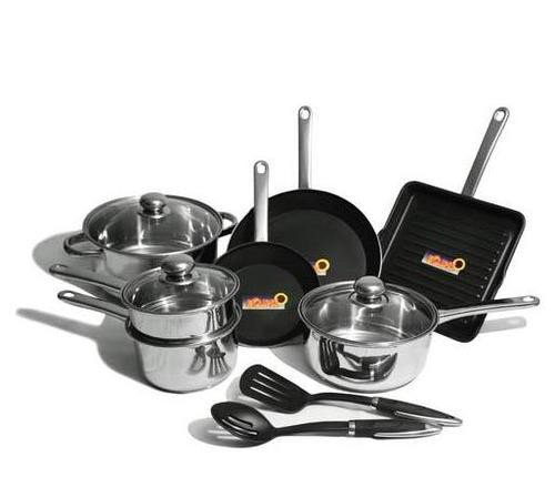 Kinetic Classicor  Stainless Steel 12 Piece Cookware Set