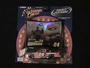 Buy 2001 NASCAR Winner's Circle . . . Jeff Gordon #24 Dupont 200 Years Chevy Monte Carlo 1 43 Diecast . . . Double Platinum... by Nascar