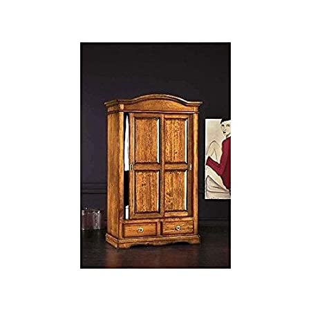 Wood wardrobe 2 Sliding Doors Arte povera – As Photo