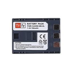 Tyfy NB2L Digital Camera Battery
