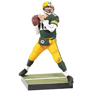 NFL Green Bay Packers McFarlane 2012 Series 29 Aaron Rodgers Action Figure by McFarlane Toys