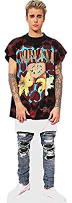 Justin Bieber 2016 Cardboard Cutout (life size OR mini size). Standee. Stand Up.
