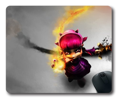 Annie The Dark Child Rectangle Mouse Pad, DIY Cecilydreaming 220mm*180mm*3mm