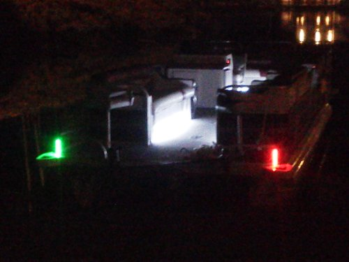 6 Inch Boat Bow Navigation lights Red & Green Black PCB (Bow Running Lights compare prices)