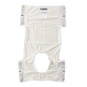 "Drive Medical Patient Lift Sling with Commode Cutout Option, 26"" x 40"""