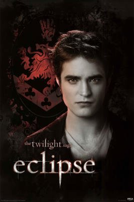 Twilight Eclipse Movie (Edward, Crest) Poster Print - 24x36