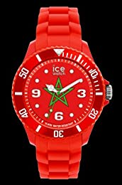 Ice-Watch WO.MO.B.S.12 Collection Ice-World  - Wristwatch men's, silicone, Band Colour: red
