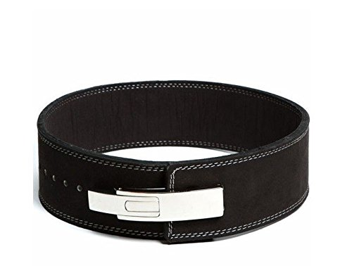 Lever Buckle Powerlifting Belt 10mm Weight Lifting Black Large (Inzer Lifting Belt compare prices)