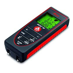 Leica Disto D2 Laser Distance Measurer (Red/Black - 60 metres)