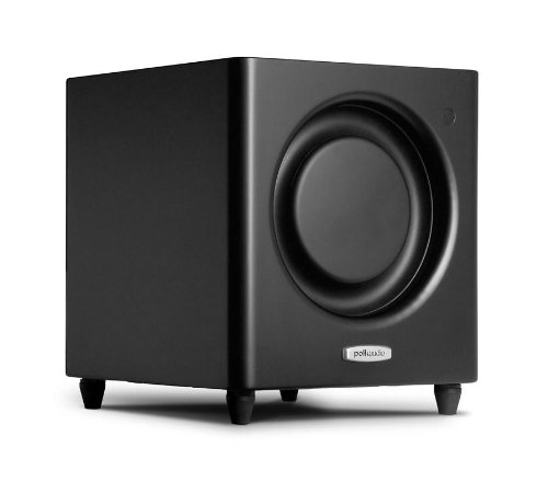 Polk Audio Dsw Micropro 1000 Subwoofer Speaker (Single, Black)