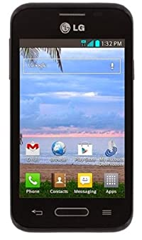 """Tracfone LG L34C 3.5"""" Prepaid Phone - TFLGL34CTMP Connect to your world on the go with this Tracfone LG L34C 3.5"""" Prepaid Phone. This prepaid phone has all of the basics you need to talk and text no matter where your adventures take you. You ..."""