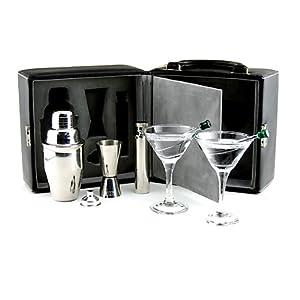 Franmara Martini Travel Bar Set with Case
