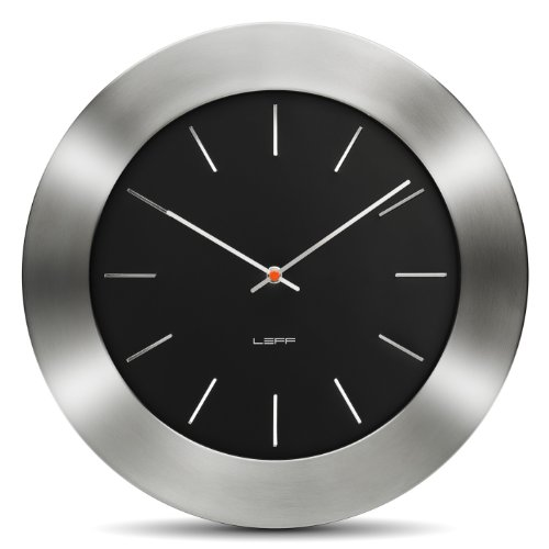 Bold35 Wall Clock Color: Black