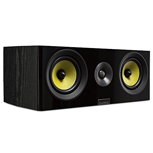 Purchase Fluance Signature Series HiFi Two-way Center Channel Speaker for Home Theater (HFC)