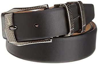 Nike Belts Mens Laser Etched Buckle Belt by Nike