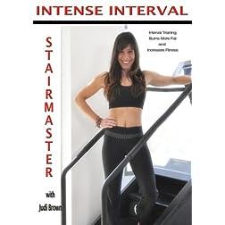 Intense Interval Stairmaster with Judi Brown