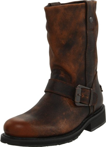 Harley-Davidson Women's Darice Motorcycle Boot,Brown,7