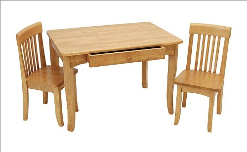 Kidkraft Avalon Table And 2 Chair Set - Natural front-1034860