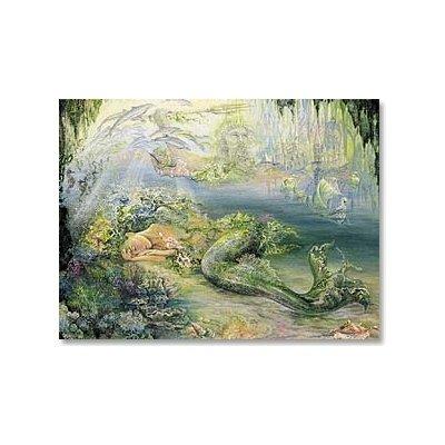 Dreams Of Atlantis Josephine Wall Greeting Card Leanin' Tree