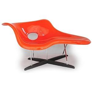 Amazon.com - Kardiel Eames Style La Chaise Lounge Chair Fiberglass