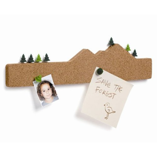Memo Mountain Cork Board Memo Notizblockhalter