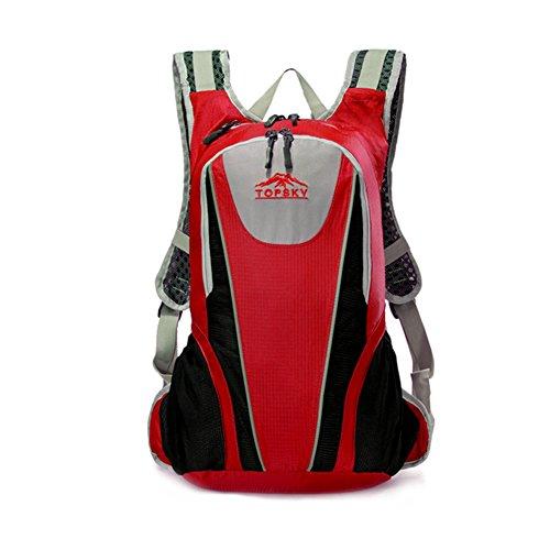 épaules multifonctionnels alpinisme sac / randonnée / Sac à dos en plein air-rouge 25L