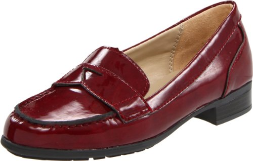 Naturalizer Women's June Slip-On Loafer,Chianti Marbeled Shiny,7 M US