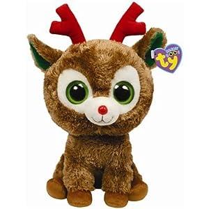 Ty Beanie Boos Buddies Comet - Reindeer (BBUD)