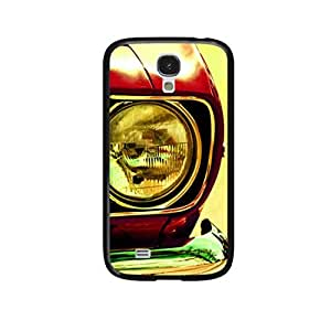 Vibhar printed case back cover for Samsung Galaxy S4 Bumper