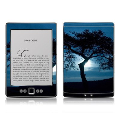 Stand Alone Design Protective Decal Skin Sticker - Matte Satin Coating For Amazon Kindle 4 (5-Way Controller - 4Th Gen / Release In Oct 2010)