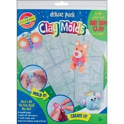 Colorbok Clay Molds Deluxe Pack - 1