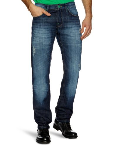 Desigual Denim_Rub Boot Cut Men's Jeans Denim Medium Wash Medium