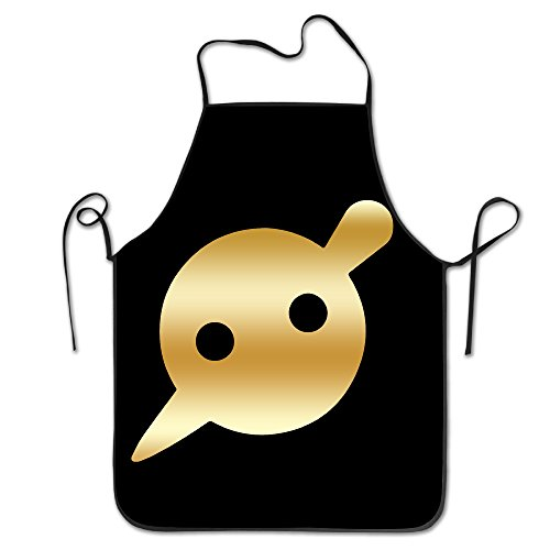 Knife Party Gold Logo Kitchen BBQ Apron