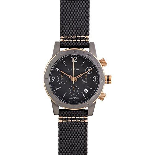 Electric Men'S Ew0020020006 Fw02 Nato Band Analog Display Japanese Quartz Black Watch