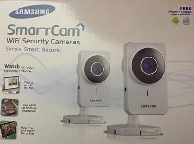 Samsung SNH-1011ND SmartCam WiFi Security camera, 2-Pack