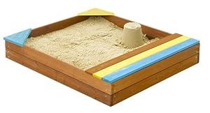 Bac à sable avec coffre
