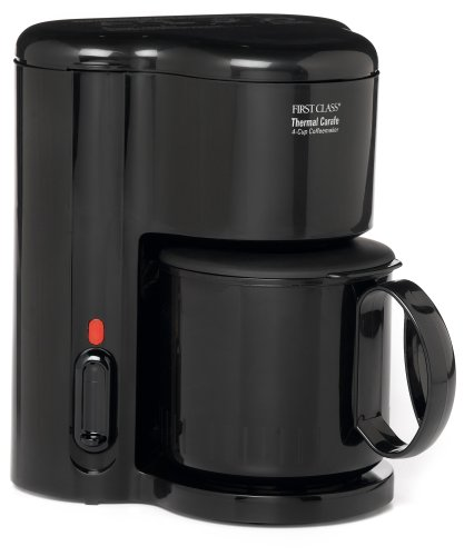 Best Coffee Maker Affordable : Cheap Cup Coffee Makers: Jerdon First Class CM21B 4 Cup Coffee Maker, Thermal Carafe, Black