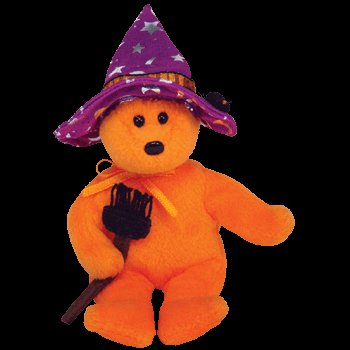 Ty Halloweenie Beanie Pocus - Bear