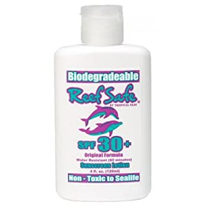 Reef Safe - Biodegradable Waterproof Sunscreen Lotion- SPF 30+