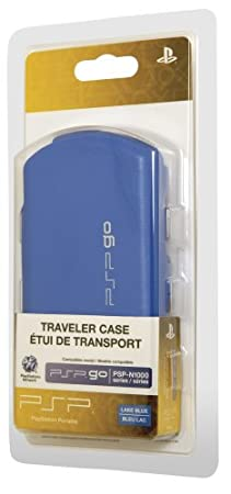 PSPgo Traveler Case - Lake Blue