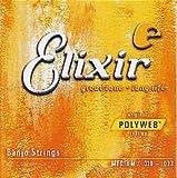 Elixir(エリクサー) バンジョー弦(.010-.023)POLYWEB Medium 11650