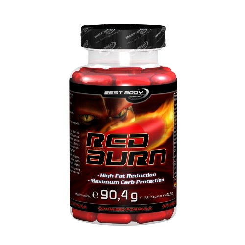 Best Body Nutrition Red Burn Fatburner - Pack of 100, Pack of 100