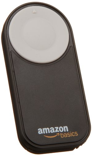 AmazonBasics Wireless Remote Control for Canon T4i, T3i, T2i, T1i, XT, Xti, 5D Mark II, 7D, 70D