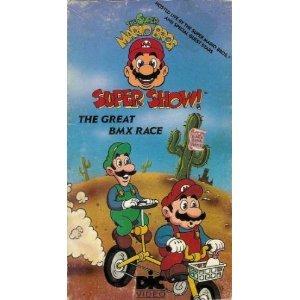 Amazon.com: Super Mario Bros. Super Show- The Great BMX Race [VHS
