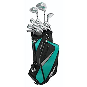 Wilson Women's Profile HL Complete Package Golf Set from Wilson Sporting Goods